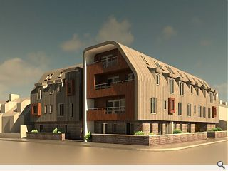 Broughty Ferry affordable homes plan submitted