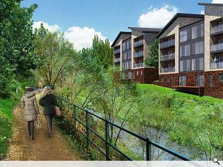 Currie paper mill makes way for 53 riverfront homes