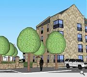 New homes seek to blend in with the conservation area