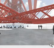 Visitors will gain a close-up view of the iconic structure