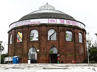 Glasgow's South Rotunda transformed into pop-up theatre space