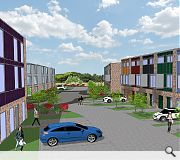 The properties will benefit from strong sustainability credentials and high levels of sound insulation