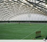 An indoor arena will enable training to take place in all weathers