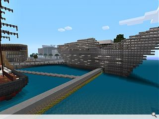 Budding architects lap–up Minecraft depiction of Dundee's V&A