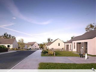 Colony-style Galashiels homes win approval on appeal