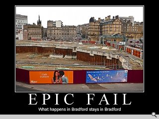 Bradford moves to green a black hole at its heart