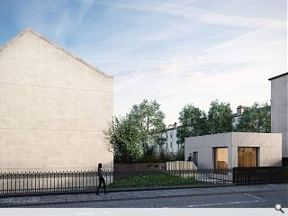Glasgow gap-site gives ground to community events space
