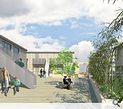 Residents will share access to a first-floor roof garden