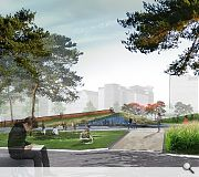 A mix of hard and soft landscaping will draw Dundonians to the waterfront
