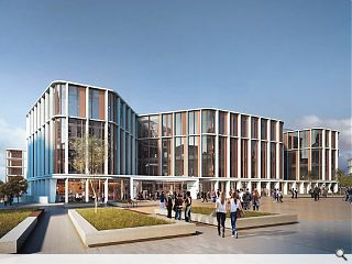 University of Glasgow outlines plans for campus 'centrepiece'