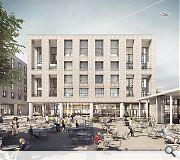 The 'urban quarter' will include its own energy centre