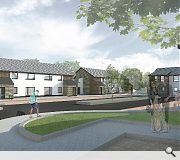 20 cottage flats will also be built in Scone
