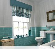 Interior design work was carried out by Caroline Brown.