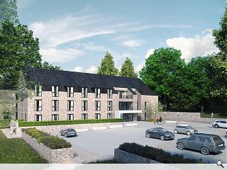 Woodland care home planned for disused Dundee hospital