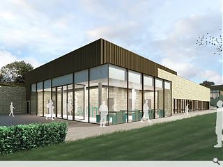 Holmes Miller draw up plans for Merchiston Castle sports hall