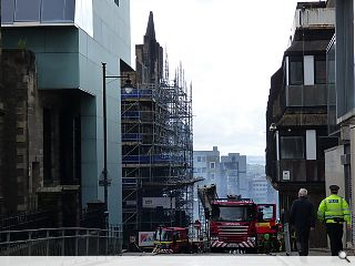 Fears grow for Glasgow School of Art as architect warns of 'black hole' rebuild