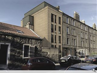 Infill flats to bookend Restalrig tenement