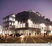 The project will bolster the no man's land between Union Street and the station