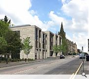 Views of the Catholic Church of St Margaret's & St Leonard's will be gramed by the new infill