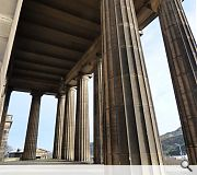The Greek Revival landmark was refurbished in 1979 for an abortive Scottish Assembly