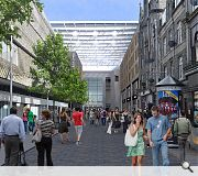 George Street could be terminated by a 'grand urban room'