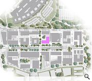 The IRR occupies a key plot within the bio-Quarter masterplan