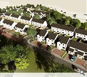 The homes are being delivered as part of a much larger council house building programme by Fife Council
