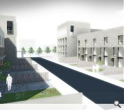 RMJM's scheme aims to reinstate something of the urban character which once defined Laurieston