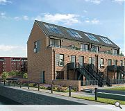 Townhouses have been designed to encourage families to relocate to the area
