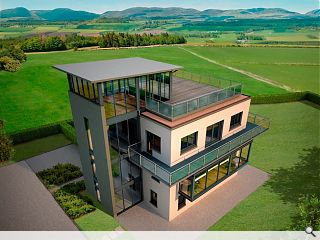 Perthshire control tower to be transformed into home for high fliers
