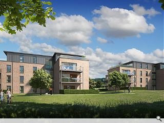 Twin apartment blocks to rise in Thorntonhall