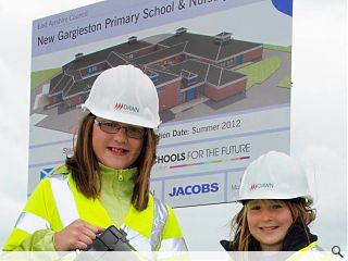 Ground breaking ceremony staged for Gargieston Primary