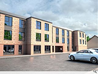 Troon care home breaks new ground