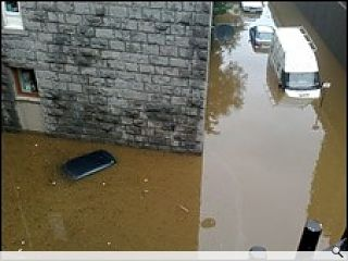 Floods drown Aberdeen