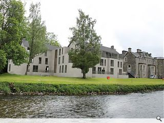 Country house provides template for Peebles apartments