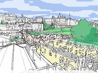 The City of Edinburgh Council seeks approval for £314m city centre masterplan