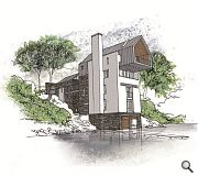 Custom built tower houses will boast their own front door jetty and back door parking