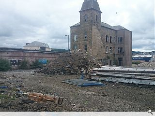 Councillors approve demolition of B-listed Hawick mill