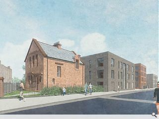 Cathcart School forms basis for 49 new homes