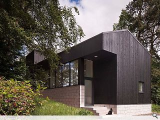 Woodland home brings black magic to the Borders