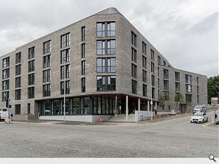 196 bed Aberdeen student housing scheme completes