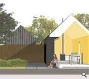 Plans for plot 23 by Oliver Chapman Architects