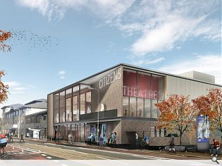 Bennetts Associates has received planning for Glasgow's iconic Citizens Theatre