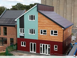 BRE unveil low cost, sustainable and quick to build volume housing solution