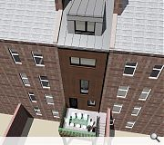 A private firsgt floor amenity deck will offer occupiers their own outdoor space