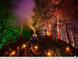 Enchanted Forest spectacle returns to Perthshire