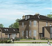 A pavilion extension will provide additional accommodation within the main villa