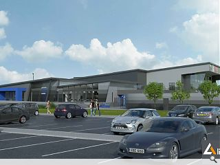 £15m expansion pitched for Inverurie sports centre