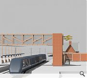 The kit of parts would be scalable between small and medium-sized stations