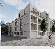 The scheme will rise opposite the proposed India Quay development